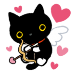 KSU: Valentine w/deco taped envie & stickers!
