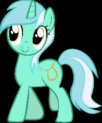 My Little Pony FIM ATC Swap Series 2 Lyra Heartstr