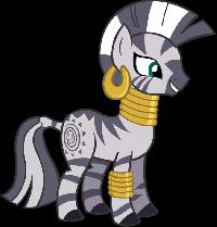 My Little Pony FIM ATC Swap Series 5 Zecora