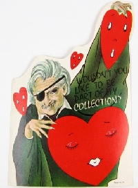 Handmade Halloween Valentine Card!
