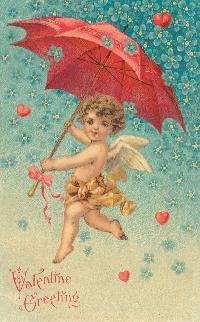 AACG:  Vintage Valentine ATC