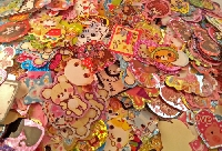 Kawaii: 30 Sticker Flakes (USA) #3