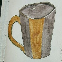 BDU: Cuppa Joe Mail Art