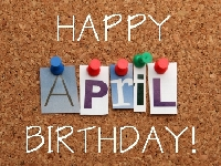 APDG ~ 🎁 APRIL 💗 Birthdays 🎁