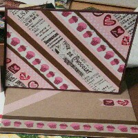 WOW!: Pink and ?? Note Cards