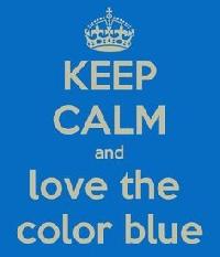 WIYM: Color Series-Blue Handmade Postcard