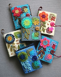 Needlebook with Embroidery/Cross Stitch