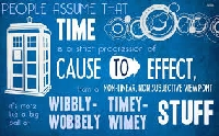 Doctor Who Atc Swap #1 The Tardis