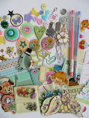 Embellishments for your Art/Smash Journal Swap #3