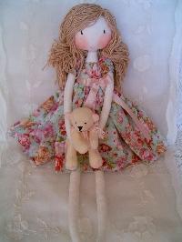 Homemade rag doll swap-US only
