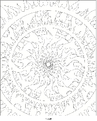C.I. ~ Coloring pages w/o Coloring ~ June
