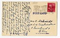 VC:Handmade Vintage Style Postcard