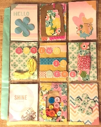 May Pocket Letter: Blue and Green