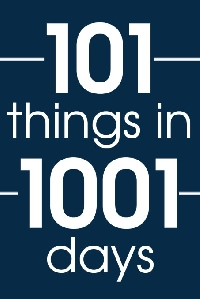 101 Things Progress- April 2016