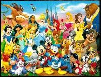 Disney Postcards USA
