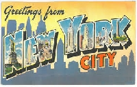 WPS - New York City Postcard #3