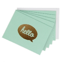 Ladies Low Stress Note Card #5 - USA