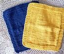 Monthly Dishcloth Swap-June-Yellow