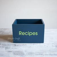 Recipe Letter