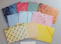 Handmade envelopes - 4th of July
