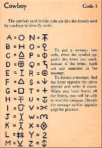 Secret Code Letter!