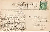Baker's Dozen Postcard Swap - 13 Partners