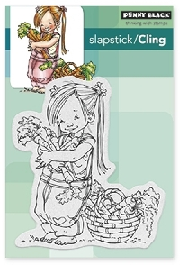 Clear Cling Stamp Swap& Sticker Sheet