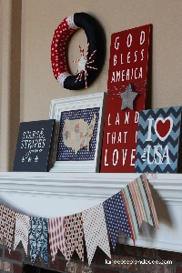 4th of July Dish Towel and Surprise