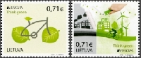 20 Used Post Stamps #35 ✿♥‿♥✿
