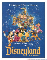 Disney Postcards ~ USA Only