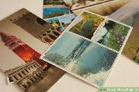 USED touristy postcards swap #14