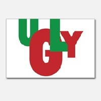 Ugly Postcard! YUCK! #2 *INTL*