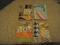 AACG: Collaged background ATC