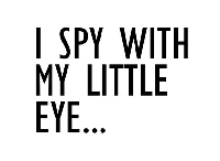 I spy with my little eye... #8 *INTL*