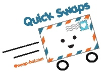 QUICK 5 postcard swap #199