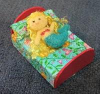 MLU: Mermaid Matchbox Bed & Doll
