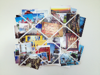 Postcards Travling Around the World #3