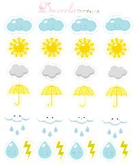 A Sheet of FLAT Stickers
