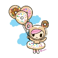 Kawaii ATC series ROUND 8! ^^ Donutella