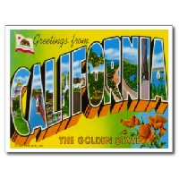 California Postcard Swap