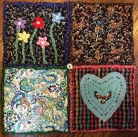 Teesha Moore Mini Quilt Square
