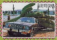 Car on a Postcard