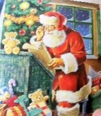 Christmas Card as poscard #30 - toy or toys