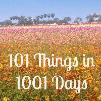 101 Things Progress- August 2016