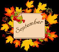 *INTL*  Monthly Planner Kit Sept - Sender's Choice