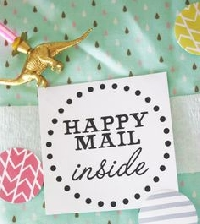 Quick Swap #8 - Happy Mail! (flat)