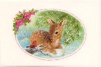 Animal Christmas Cards - 5 partners