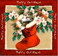 Mini pocket letter CHRISTMAS