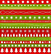 ATC Jams: Red & Green Based Christmas Starter Set