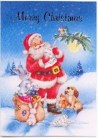 Christmas Card Fun #3 Santa